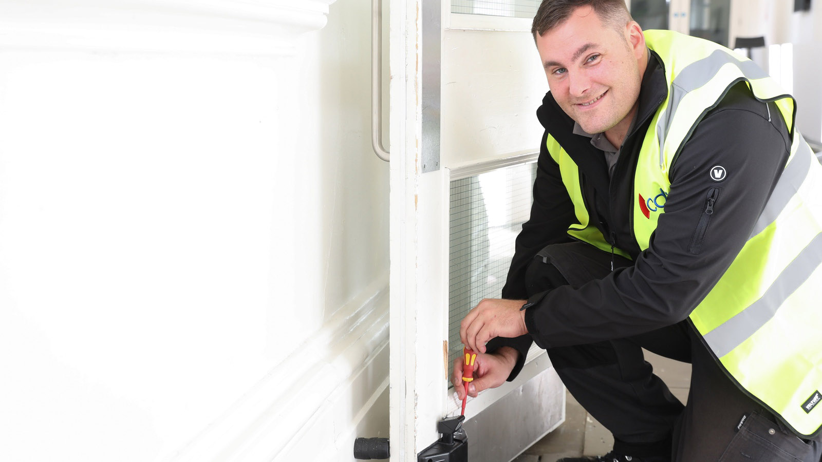 Specialist door openers ensure fire safety in a COVID-19-secure workplace, says CDS